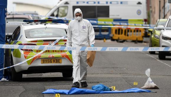 Un muerto y varios heridos en ataques con cuchillo en Birmingham . (Foto: Oli SCARFF / AFP)
