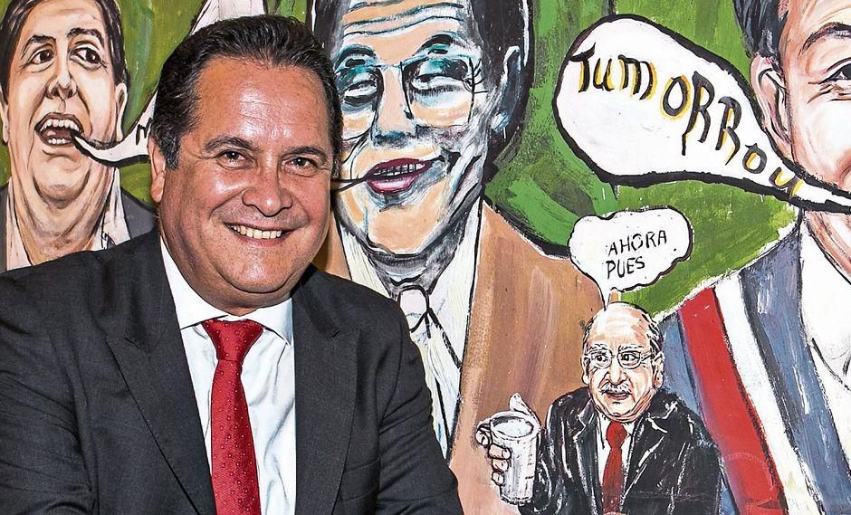 LUIS IBERICO. Ex presidente del Congreso. (Victor Idrogo)