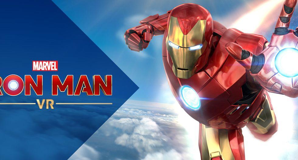 Marvel's Iron Man VR saldrá a la venta el próximo 3 de julio