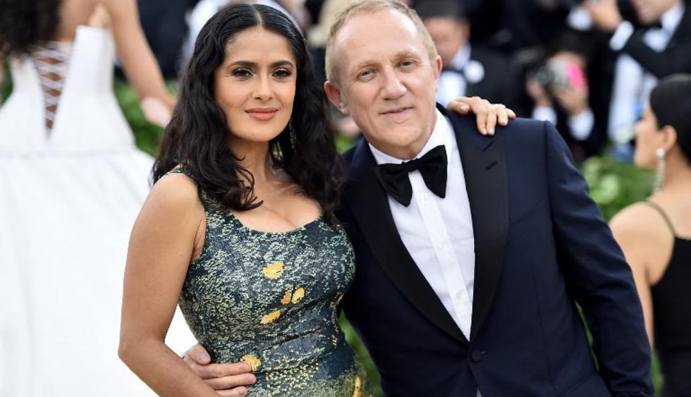 El esposo de Salma Hayek, el francés François-Henri Pinault, se sumará a los esfuerzos para la reconstrucción de Notre Dame. (AFP)