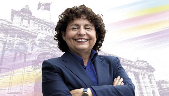 Susel Paredes postula al Congreso con el Partido Morado.