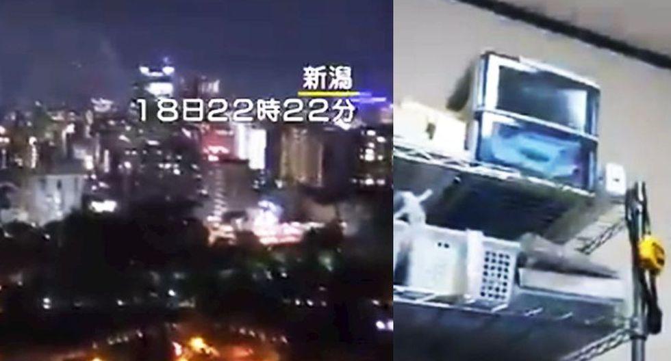 Terremoto en Japón: Los primeros videos del fuerte sismo que provocó alerta de tsunami. (Captura de video)