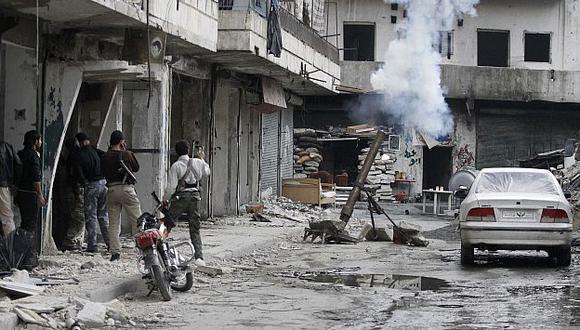 Enfrentamientos entre rebeldes han dividido a oposición siria. (Reuters)
