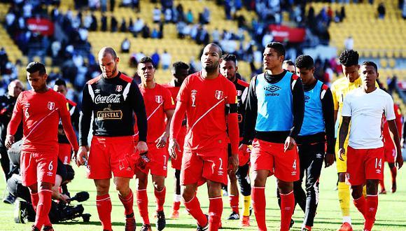 Perú sumó 5 partidos sin anotar goles en el primer tiempo. (Getty Images)