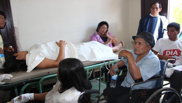 VÍCTIMAS DE UN ERROR. Nueve civiles fueron heridos por soldados que los confundieron. (USI)