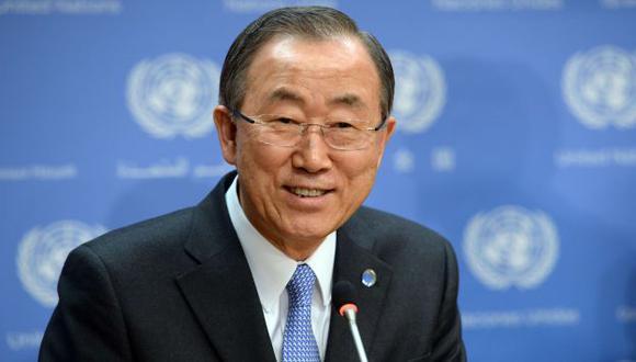 ONU: Ban Ki-moon viaja a Rusia y Ucrania por crisis de Crimea. (AFP)
