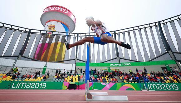 El atletismo en el estadio de la Videna sigue este miércoles con 11 pruebas. (Foto: Héctor Vivas / Lima 2019)