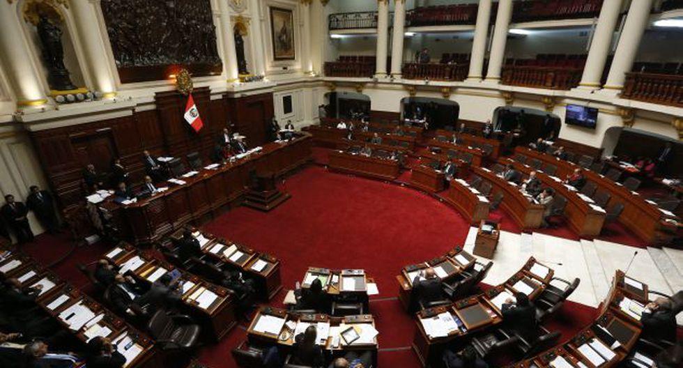 Pleno aprobó otorgar facultades legislativas a la Comisión Permanente hasta julio. (GEC)