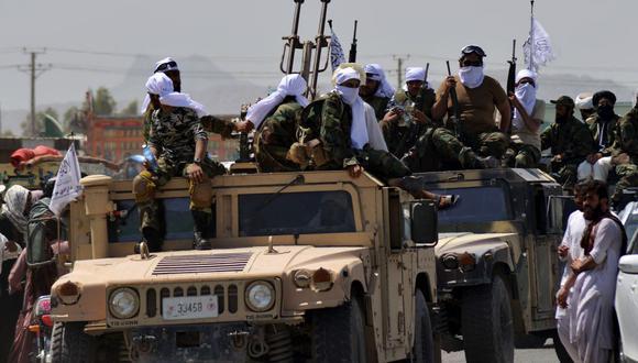 Después de 20 años, los talibanes retomaron Kabul, la capital de Afganistán. (TANVEER JAVED / AFP).