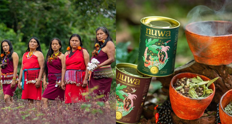 Los empaques son el reflejo de los productos que son trabajados por las mujeres de la comunidad nativa Shampuyacu en el Alto Mayo.