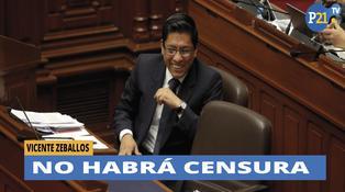 Fuerza Popular no apoyará moción de censura contra Ministro Zeballos