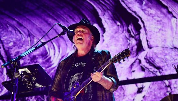 Neil Young vende la mitad de sus derechos sobre su catálogo musical. (Foto: AFP).