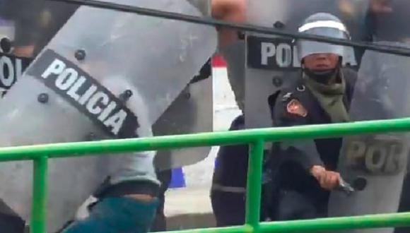 Policía armado que disparó directamente contra manifestantes ya ha sido separado, afirmó Pérez Guadalupe.