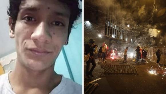 Luis Fernando Araujo Enríquez desapareció el sábado cuando estuvo en la marcha con amigos. (Foto: César Campos / @photo.gec)