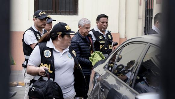 César Villanueva se encuentra bajo prisión preventiva por 18 meses desde el 11 de diciembre pasado. Foto: GEC