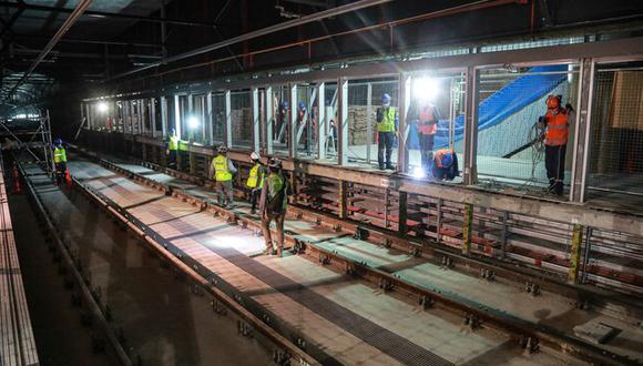 Para esta primera etapa estarán operativas cinco estaciones: Mercado Santa Anita, Hermilio Valdizán, Colectora Industrial, Óvalo Santa Anita y Evitamiento. (Foto: MTC)