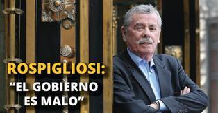 """Fernando Rospigliosi: """"El gobierno es malo"""" [VIDEO]"""