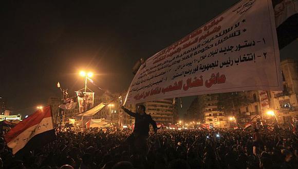 La Plaza Tahrir en El Cairo continúa siendo el epicentro de las protestas. (Reuters)
