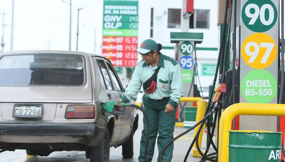 """""""Petroperú continuará trasladando gradualmente las rebajas del precio internacional de combustibles al mercado local"""", dijo la empresa. (Foto: GEC)"""
