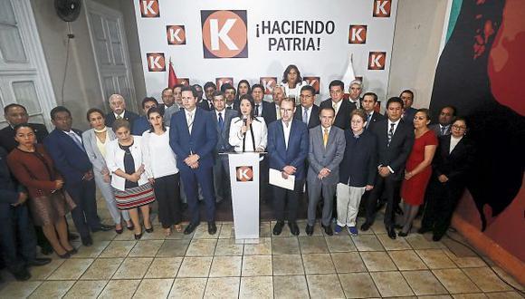 ¿Fractura? Congresistas fujimoristas ya no esconden sus diferencias internas. (GeraldoCaso/Perú21)