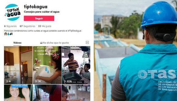 Lanzan concurso en TikTok para concientizar sobre el agua en 11 regiones