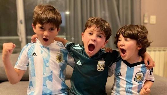 Lionel Messi festejó con su familia el triunfo 3-0 de Argentina ante Ecuador. (Foto: Instagram)