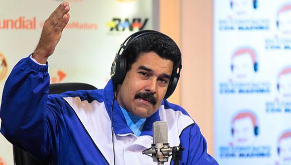Nicolás Maduro tiene a la prensa venezolana al borde del colapso. (EFE)