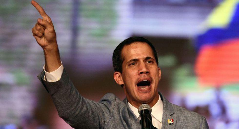"""Guaidó indicó a través de una carta que no entendía """"las razones de la posición política de Italia"""". (Foto: AFP)"""