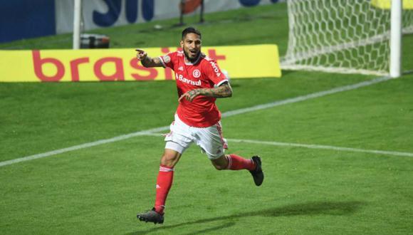 Internacional celebró el segundo año de Paolo Guerrero en el club. (Foto: @SCInternacional)