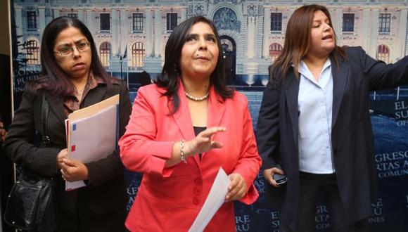 Ministra de la Mujer deberá responder ante dos comisión investigadoras. (Martín Pauca)
