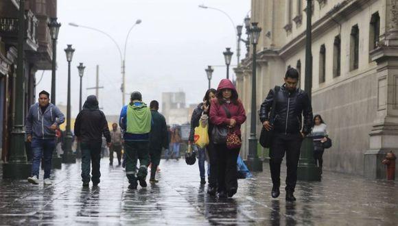 La sensación de frío se acentúa en Lima durante la temporada de invierno. (GEC)