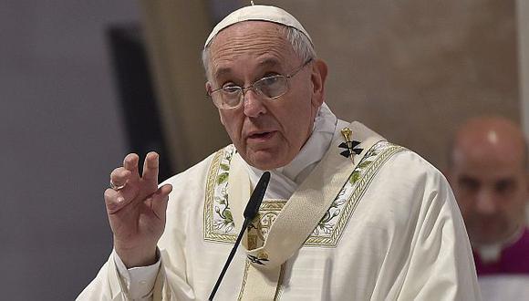El Papa Francisco recordó a las víctimas de Auschwitz. (EFE)