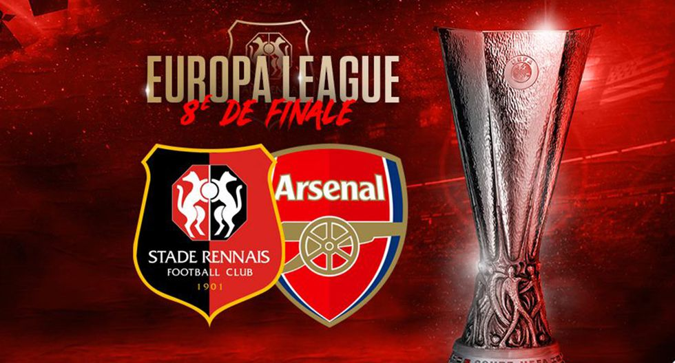 Arsenal visita a Rennes con amplio favoritismo en la Europa League. (Foto: Rennes)