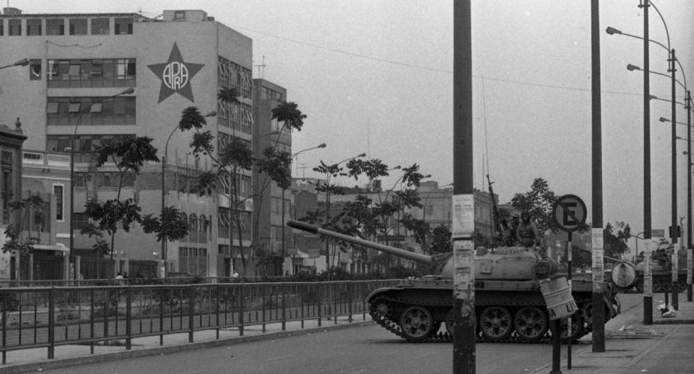 El autogolpe de Alberto Fujimori ocurrió el 5 de abril de 1992. (Foto: GEC)