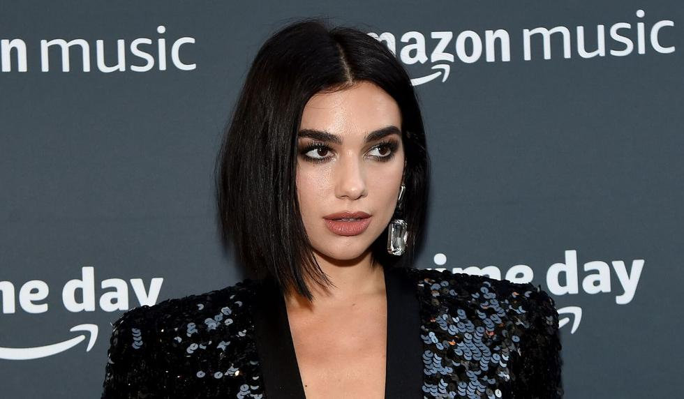 Dua Lipa compartió la foto por medio de Instagram Stories. (AFP)