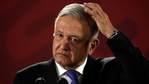 De acuerdo con el sondeo, el 21.2% de los encuestados considera que el mayor error de AMLO, que cumplirá el 1 de diciembre un año en la presidencia, ha sido el combate a la delincuencia. (Foto: Reuters)