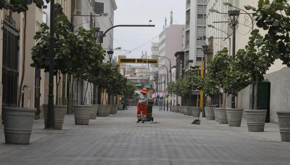 Calles del Centro de Lima. (Foto: Francisco Neyra/GEC)