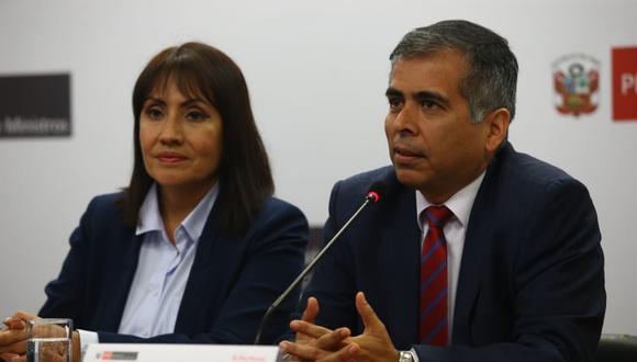 Por fin. Ministra de Transportes, María Jara, presentó a Humberto Valenzuela, quien se convirtió en el primer presidente de la ATU.