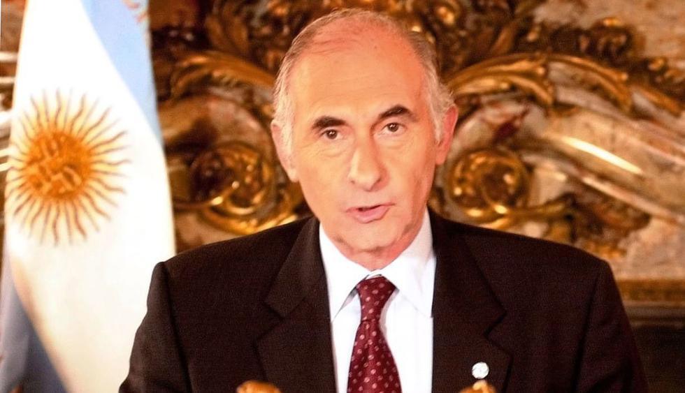 El ex presidente de Argentina, Fernando de la Rúa, falleció este martes 9 de julio. (Foto: AP)