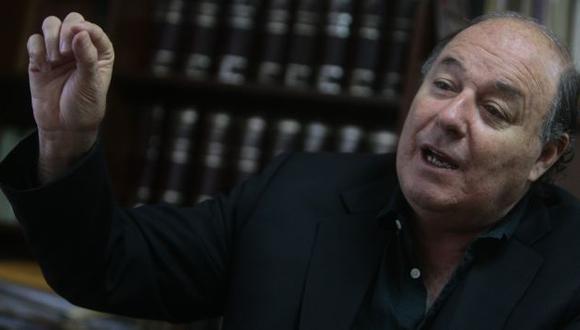 Raúl Castro Stagnaro dijo que Gobierno no debe inmiscuirse en tema de medios.  (David Vexelman)