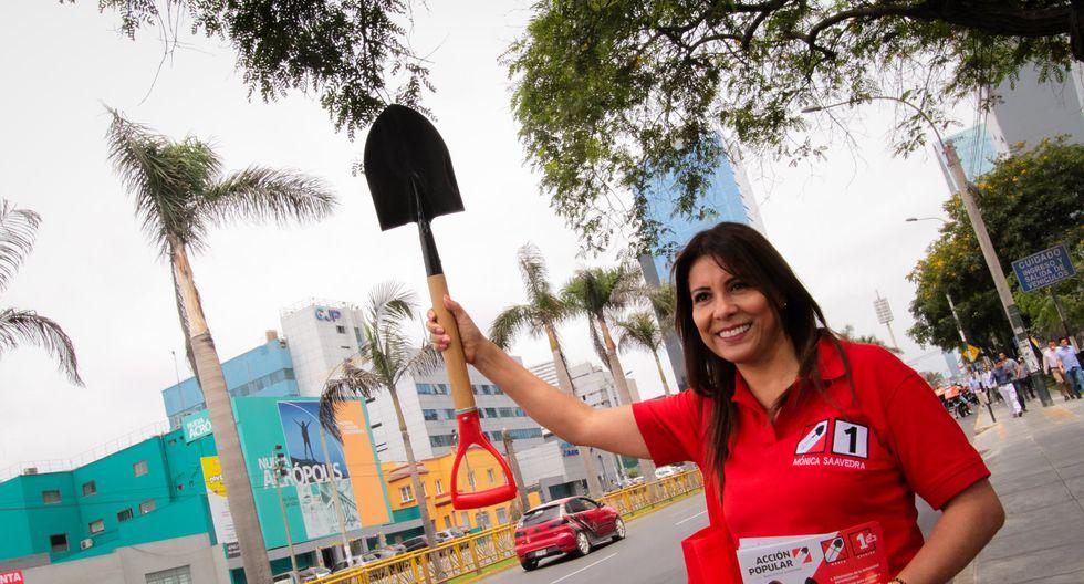 Mónica Saavedra fue electa congresista con 88 mil 743 votos en los comicios del pasado 26 de enero. (Foto: Facebook)