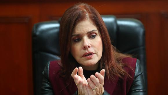 La vicepresidenta Mercedes Araoz asumirá el despacho presidencial por viaje de Martín Vizcarra a México. (Foto: USI)