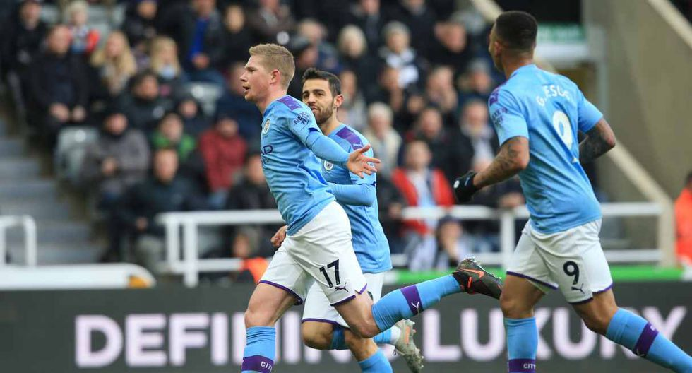 Manchester City vs. Burnley se enfrentan en la Premier League. (Foto: AFP)