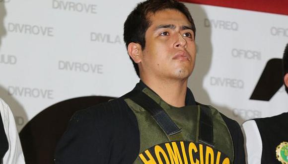 No se ha relacionado a Marco Arenas Castillo con otro crimen. (USI)