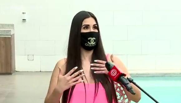 """Sully Sáenz habla sobre """"Esto es guerra"""" y no descarta volver. (Foto:Captura de América TV)."""