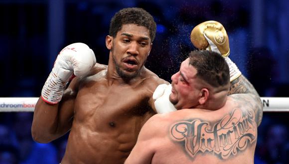Anthony Joshua iba a defender su título unificado de peso pesado en junio ante Kubrat Pulev. (Foto: AFP)
