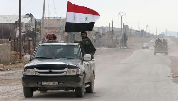 Estados Unidos suspende relaciones con Siria. (AFP)