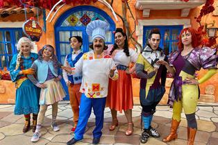 """Disney+ estrenará la serie """"El Ristorantino de Arnoldo"""" con Diego Topa"""