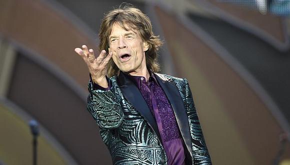 Mick Jagger es acusado de haberle sido infiel a L'Wren Scott. (AFP)