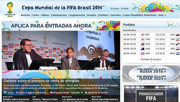 FIFA ya inició venta del multitudinario evento. (Internet)